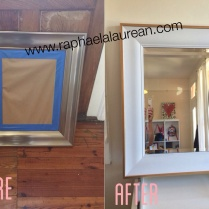 DIY, Mirror, How, To, Tutorial, Pic, Idea