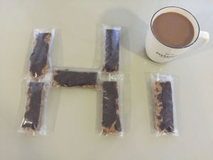 Homemade protein bars.