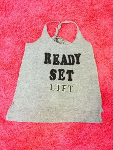 Ready, Set, Lift. My DIY Workout Tank