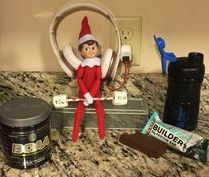 elfontheshelf, elfontheshelf2015, elf, ideas, netflix, chill, funny, easy, creative,