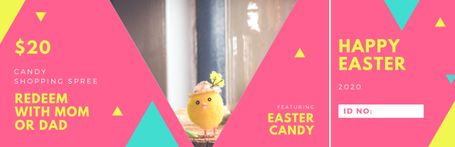 Easter 2020 Ticket 1 Front